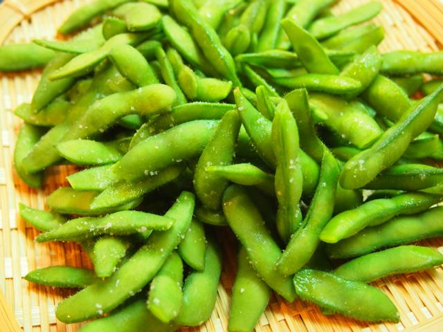 岡永さんの枝豆(陽恵という品種)